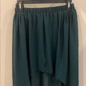 Zara Skirts - High Low Skirt